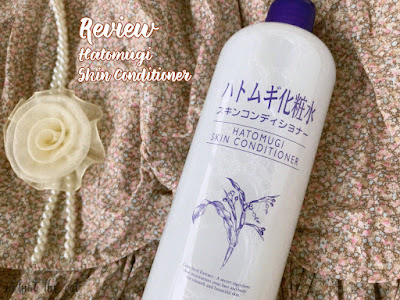 Review : Hatomugi Skin Conditioner [Nihonmart.id]
