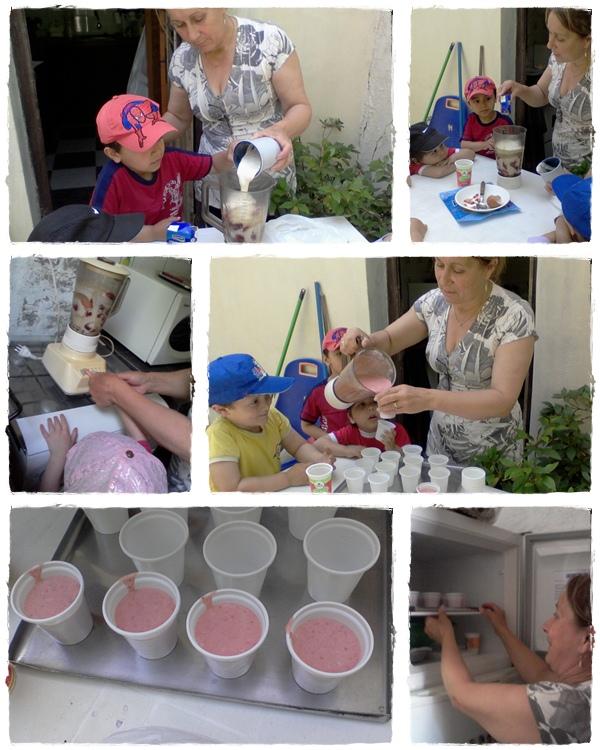 Taller de cocina con carmen helado de frutillas - Cocina con carmen ...