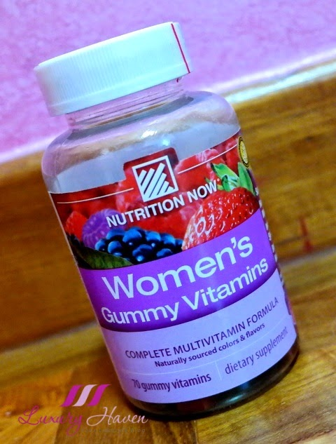vitacost nutrition now women gummy vitamin review