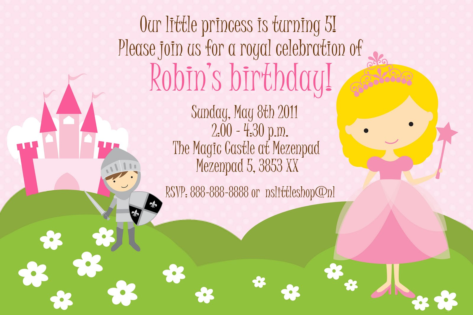 nslittleshop party decorations and more: Princesses and ...