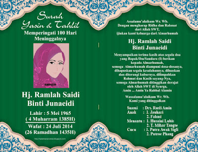 Template Cover Buku Yasin