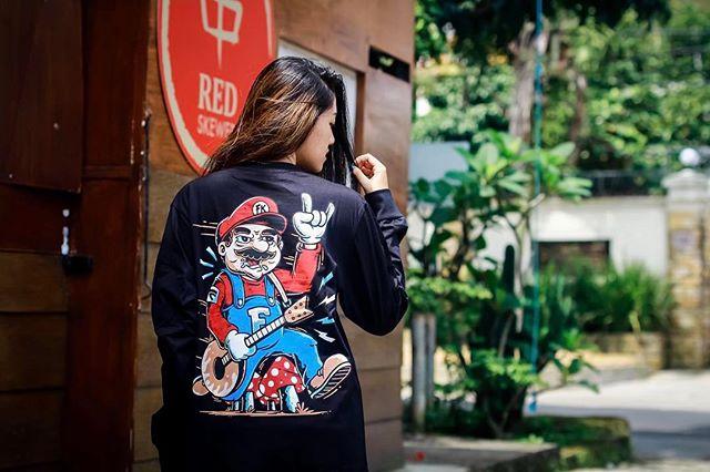 Grosir Kaos Distro Long Sleeve T-Shirt BBM: 5ACF7414