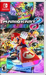 Portada del cartucho de Mario Kart 8 Deluxe para la híbrida Nintendo Switch