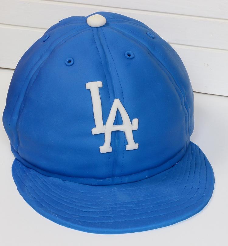 Baseball Cap Cake - Baseballkappen-Motivtorte - Kappen-Torte