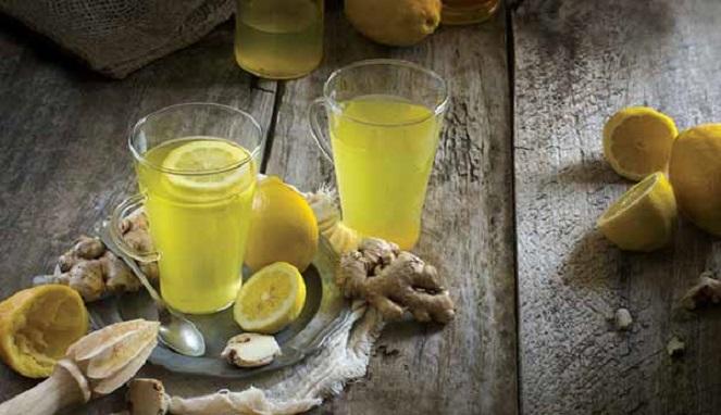 kunyit dan lemon kunci hilangkan lemak perut dengan cepat