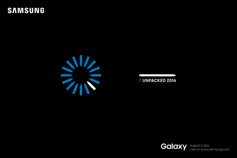 Galaxy Note 7 Unpacked 2016