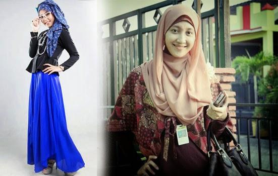 gaya jilbab untuk kantor