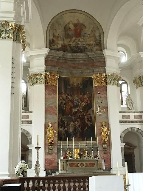 Altar in der Jesuitenkirche in Heidelberg