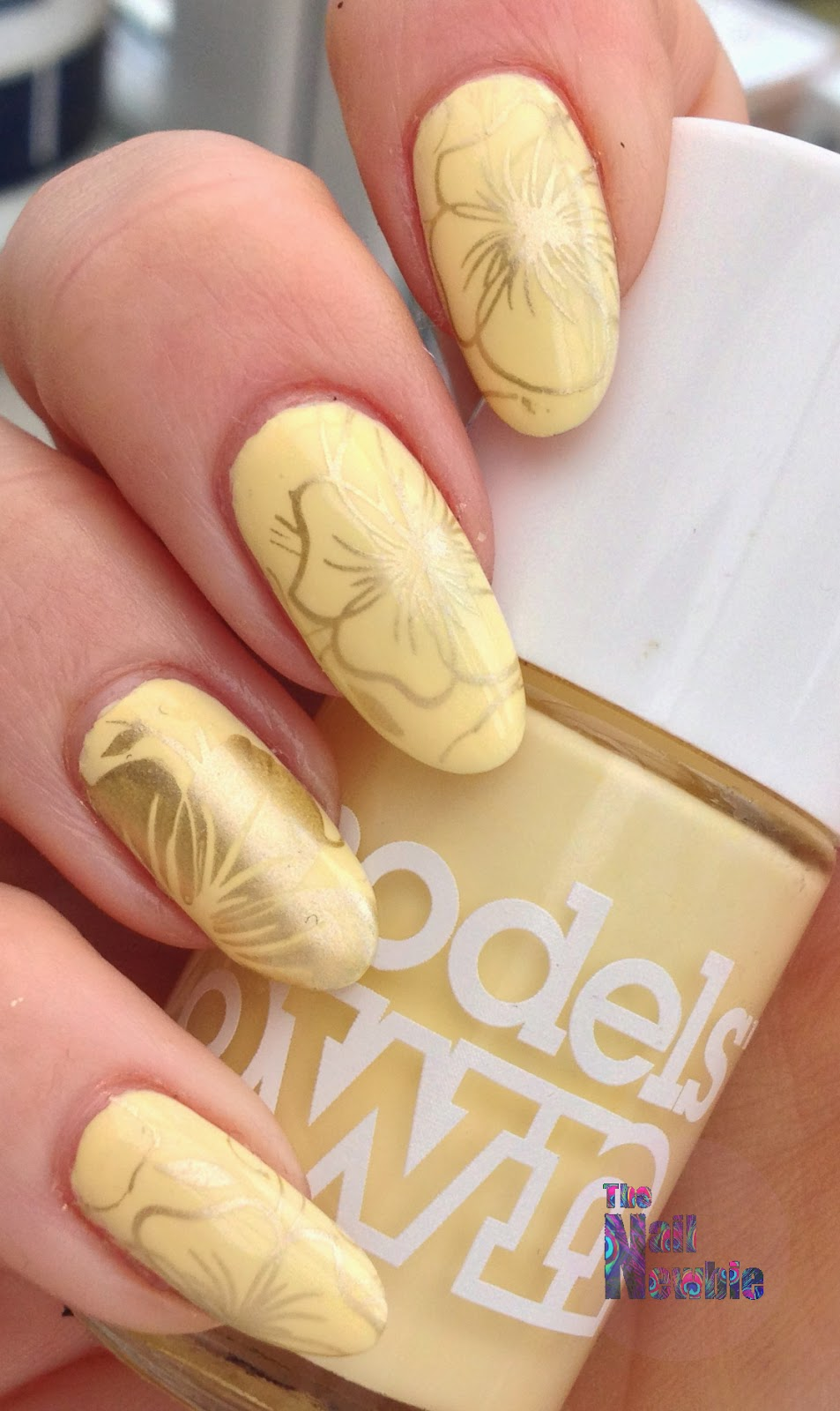 Nail Newbie Notd: Nail Newbie: GOT Polish? Yellow