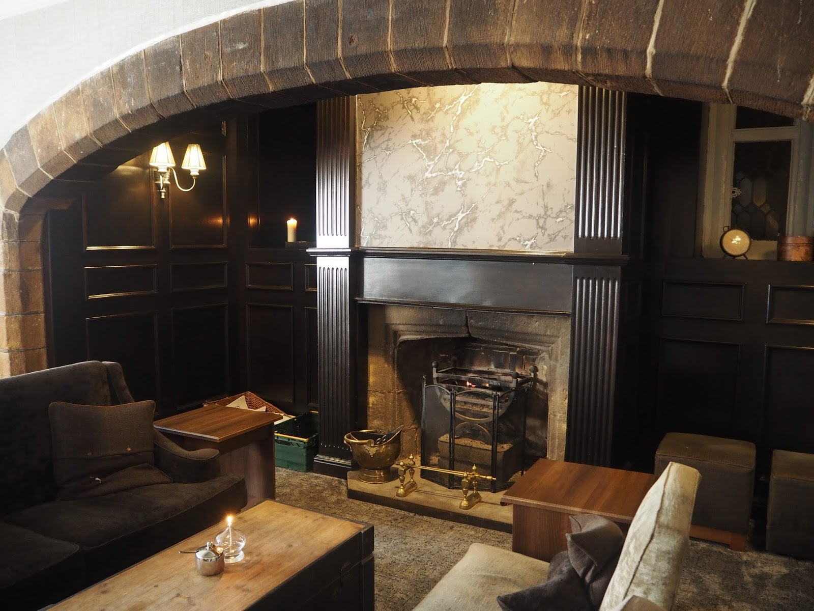 The Fire lounge, Stirk House, Gisburn,
