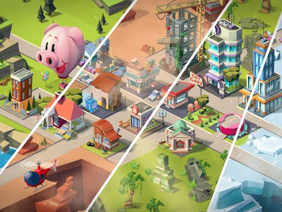 Build Away idle City MOD apk v2.2.34