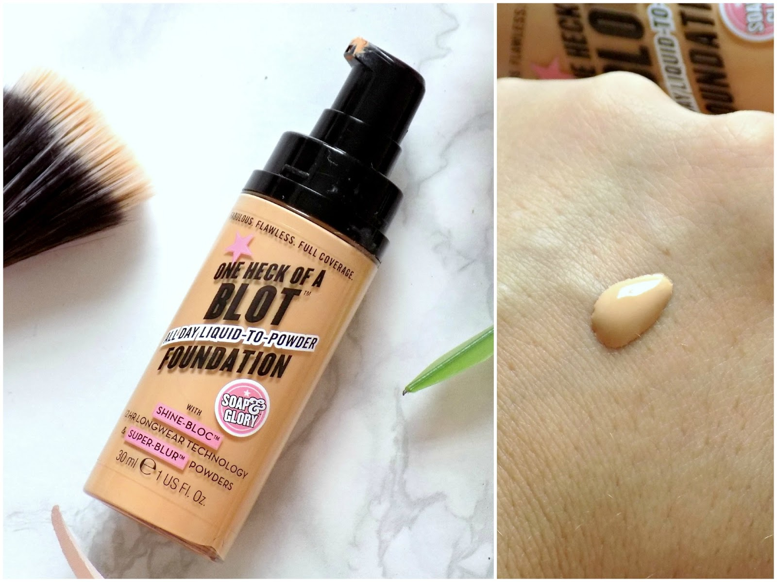 Soap & Glory One Heck of a Blot foundation