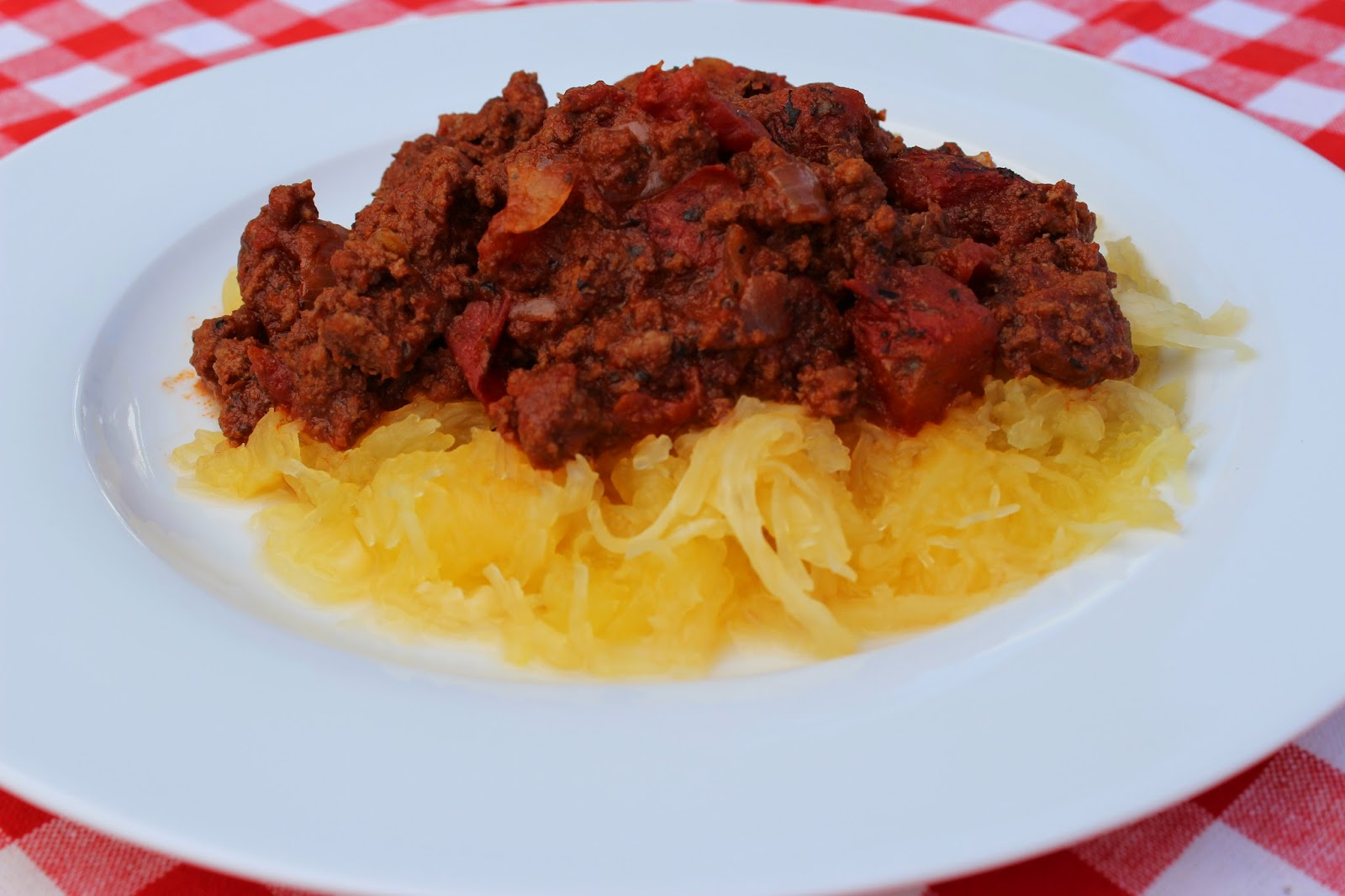 Paleo Spaghetti and Meat Sauce Recipe