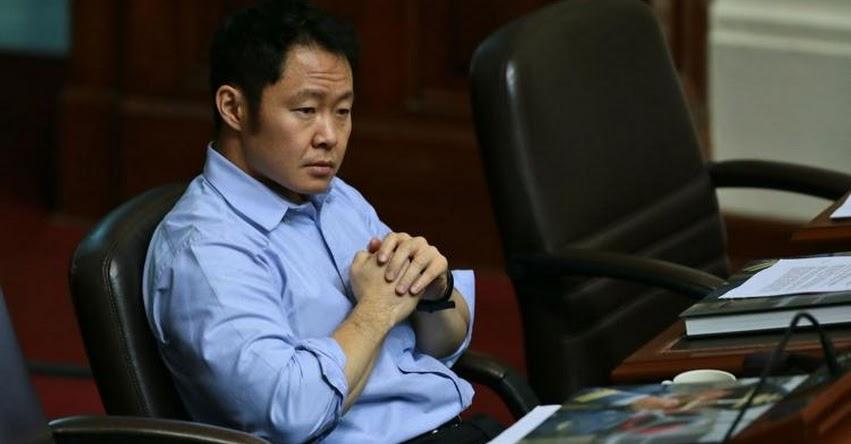 Congresista Kenji Fujimori niega candidatura presidencial para 2021