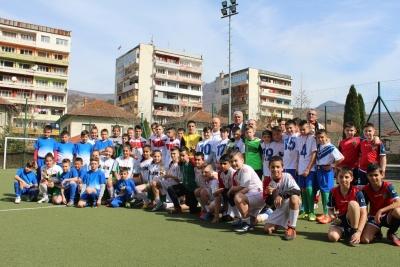 Тетевен бе домакин на турнир по футбол за деца