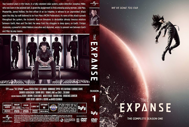 The Expanse Season 1 DVD Cover