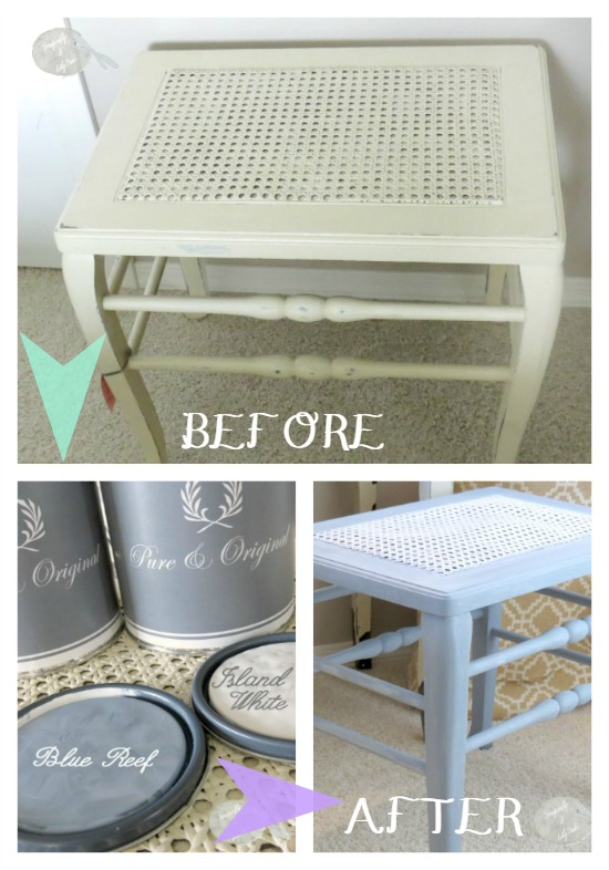 Before and After, Vanity Bench, Pure & Original Classico Regular Matte Finish