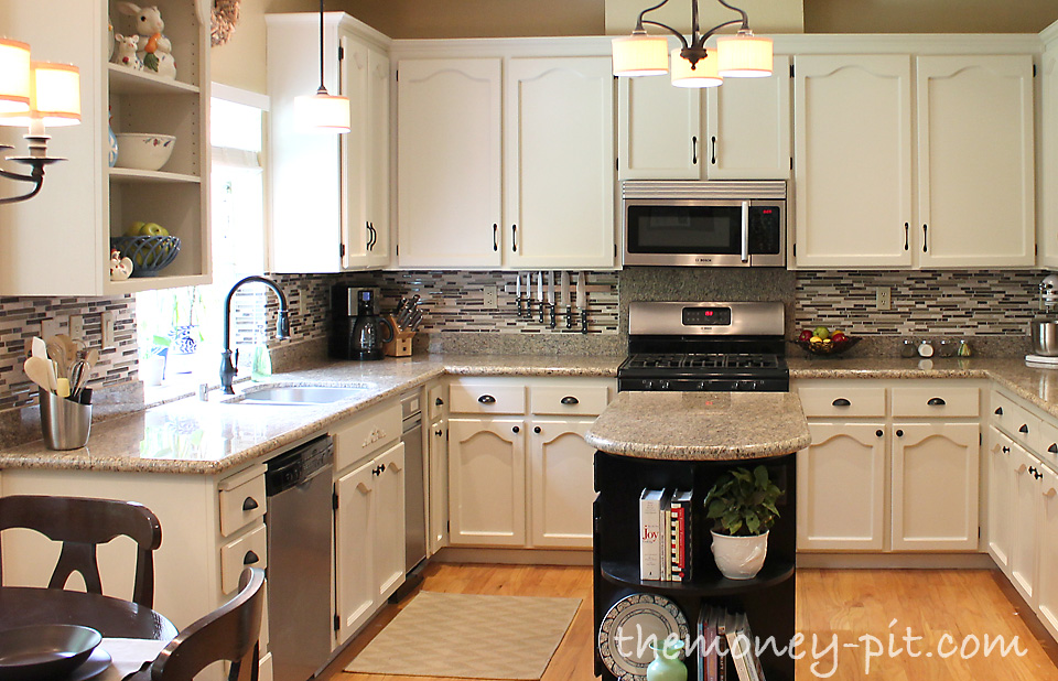 how to install a pencil tile backsplash and what it costs the kim