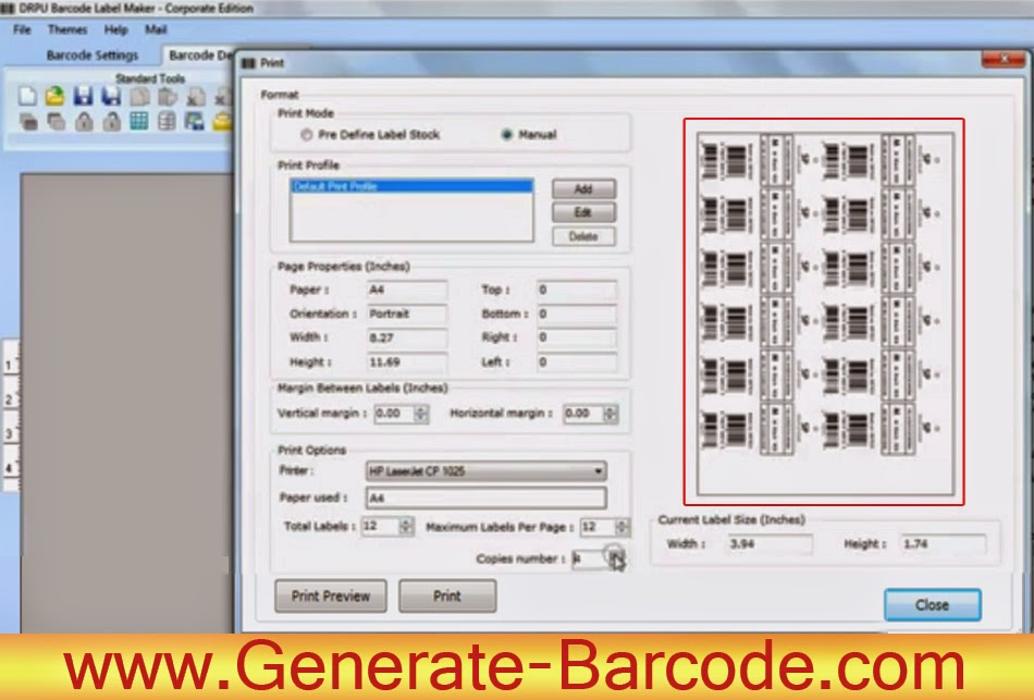 How to print designed barcode labels | Barcode Label
