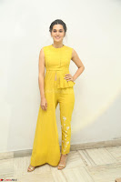 Taapsee Pannu looks mesmerizing in Yellow for her Telugu Movie Anando hma motion poster launch ~  Exclusive 123.JPG