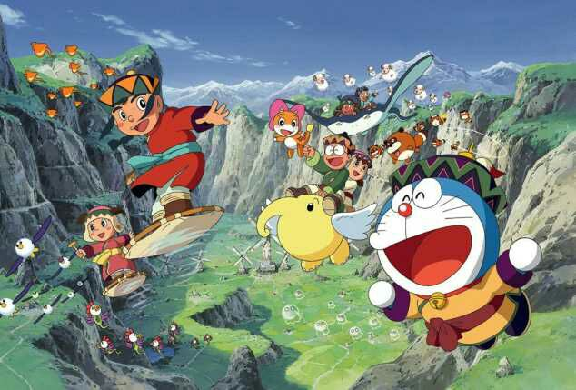 Doraemon Movie 24: Nobita to Fushigi Kaze Tsukai Subtitle Indonesia