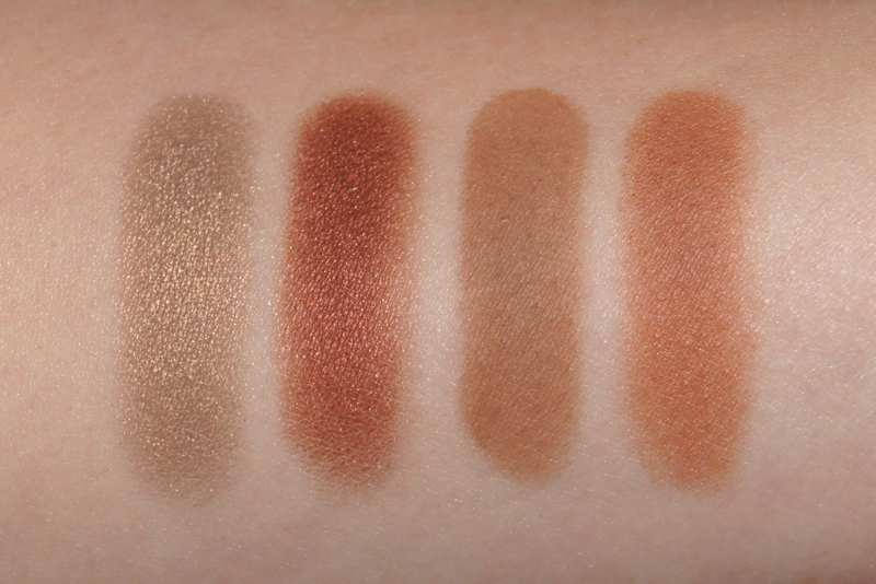 mac eyeshadows patina wedge antiqued texture swatches autumn haul