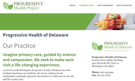 New Website - Progressive Health Project