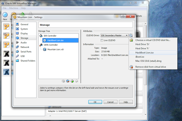 How to install OS X Mountain Lion in Virtualbox with