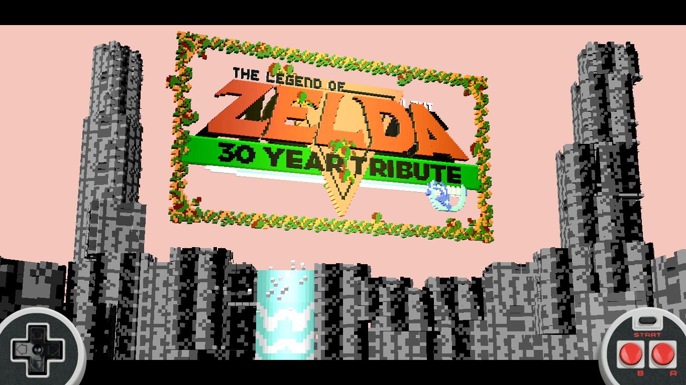 It S Dangerous To Go Alone Take This Zelda 3d Tribute Hexmojo