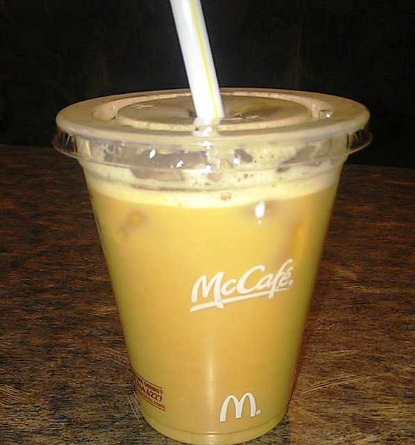 Forays Of A Finance Foodie: McDonald's French Vanilla
