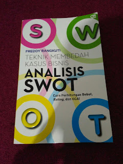 Reviews buku Analisis swot karya Freddy Rangkuti