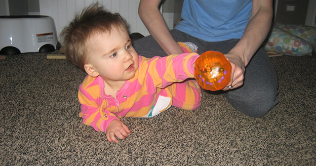 My Torticollis Baby: Rolling Belly-to-Back (towards right ...