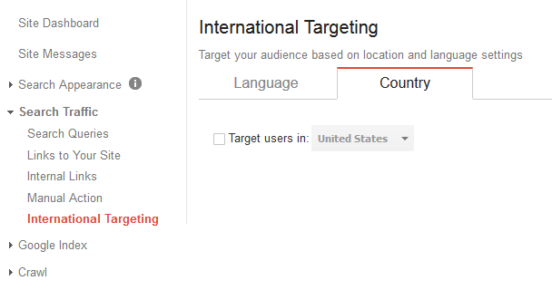 International Targeting Tool