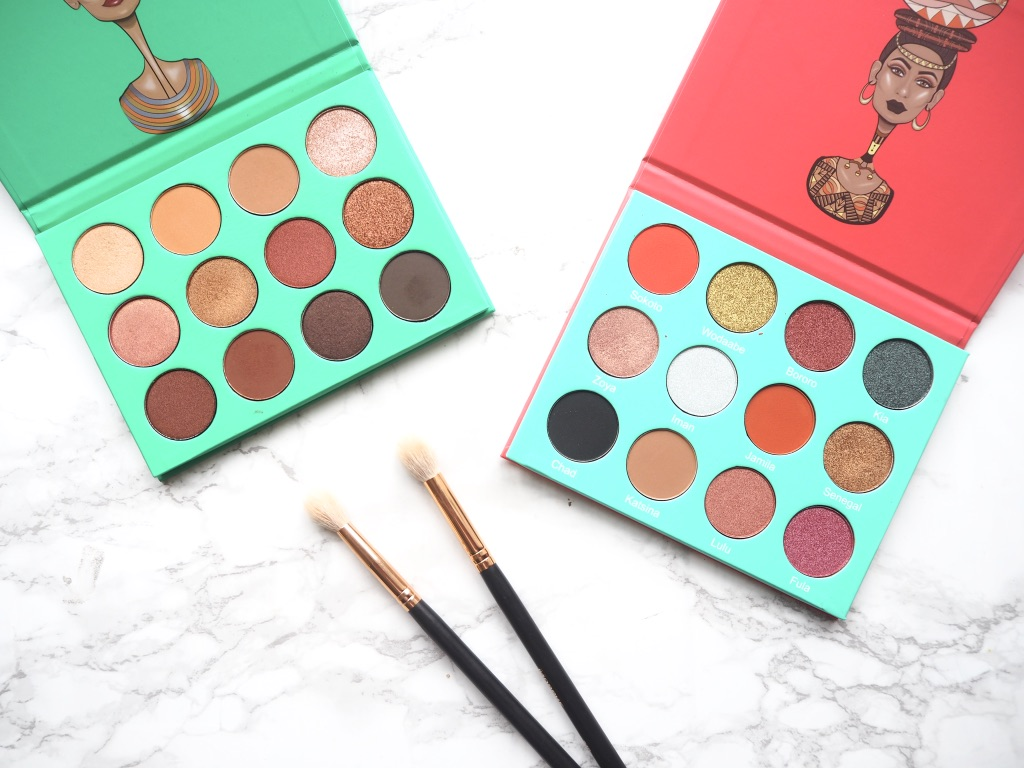 Juvia's place eyeshadow palettes