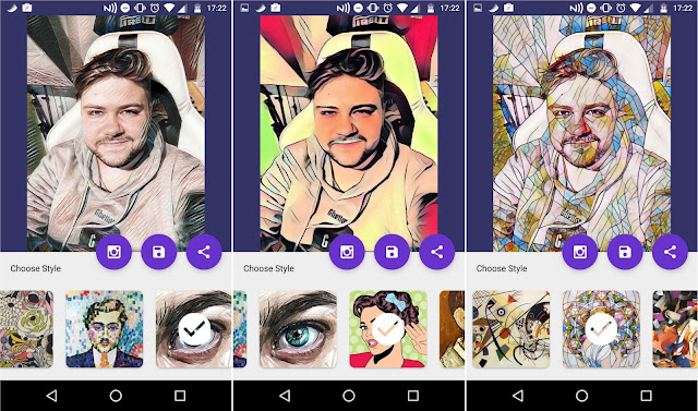 ¿Cómo funciona Deep Art Effects para Android?