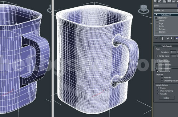 turbosmooth 3ds max modeling