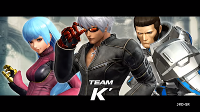 Presentato il team K su The King Of Fighters XIV