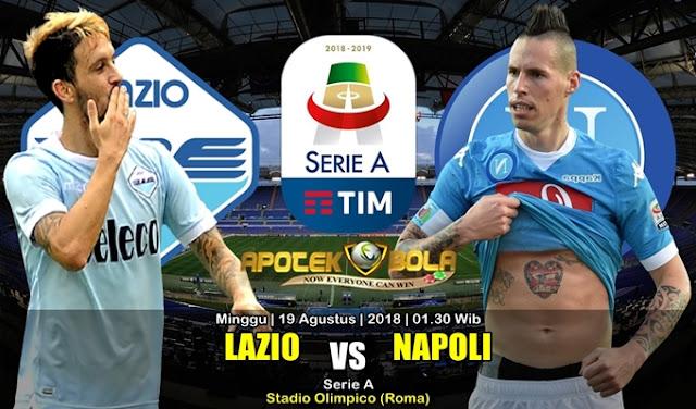 Prediksi Lazio Vs Napoli 19 Agustus 2018