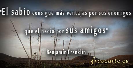 Frases famosas Benjamín Franklin