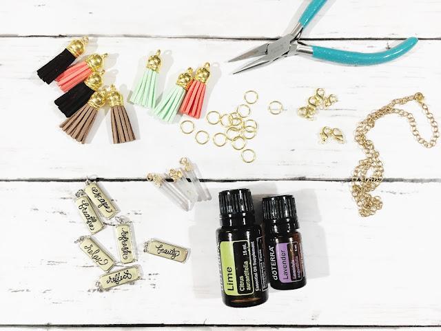 DIY Diffuser Necklace Supplies