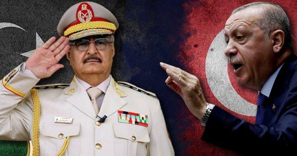 Χαλίφα Χάφταρ: «Ερντογάν θα σου κόψουμε το χέρι - Μάζεψέ το»