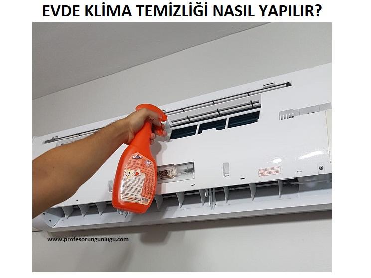 klima temizliği nasıl yapılır