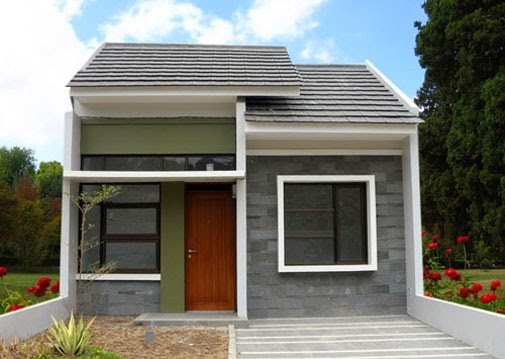 Contoh Teras Rumah Minimalis Type 36