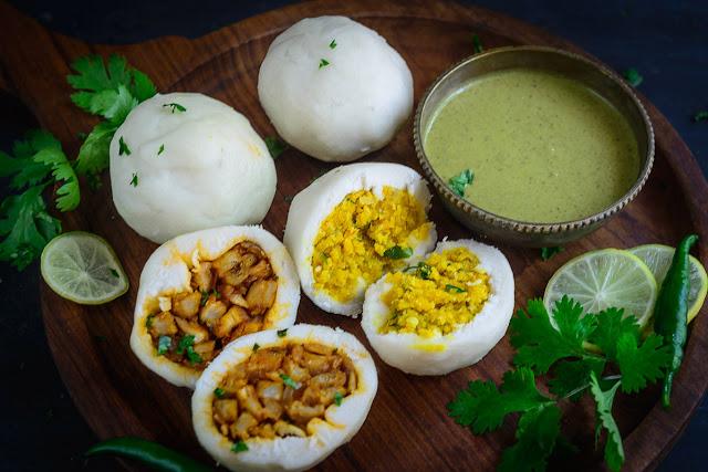 Savoury dish (Ulundu kozhukattai)