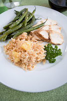 Caribbean Grilled Chicken Tropical Rice Pilar | Healthy Chicken Caribbean Grilled Recipe