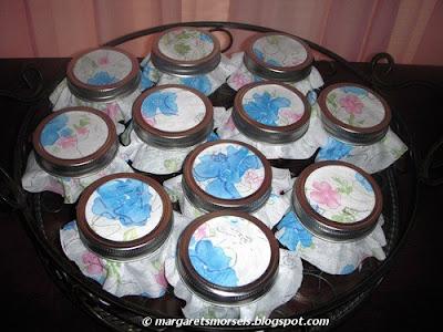 Margaret's Morsels | Mini Mason Jar Cakes