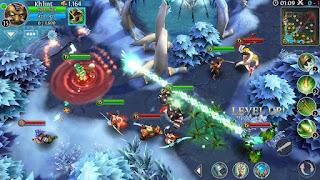 game Moba Android terbaik terpopuler - Heroes of Order