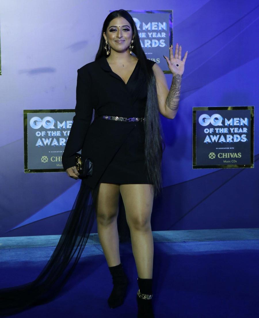 Indian Model Raja Kumari At GQ Men Of The Year Awards 2019