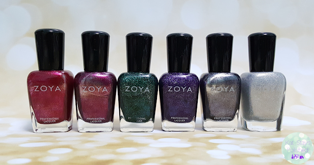 Zoya Urban Grunge Metallic Holos | Kat Stays Polished