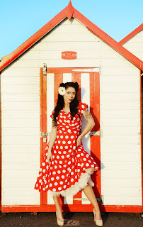 Dandelions and Pearls, pinup, vintage clothing designers, vintage fashion,